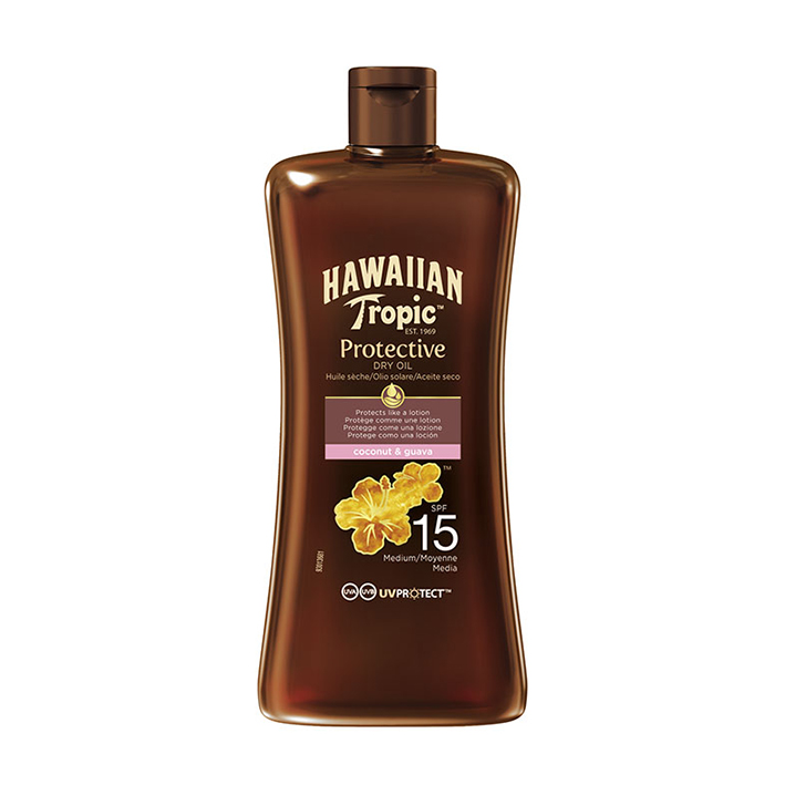 Hawaiian Tropic Dry Oil Mini 100 ml, LSF 15