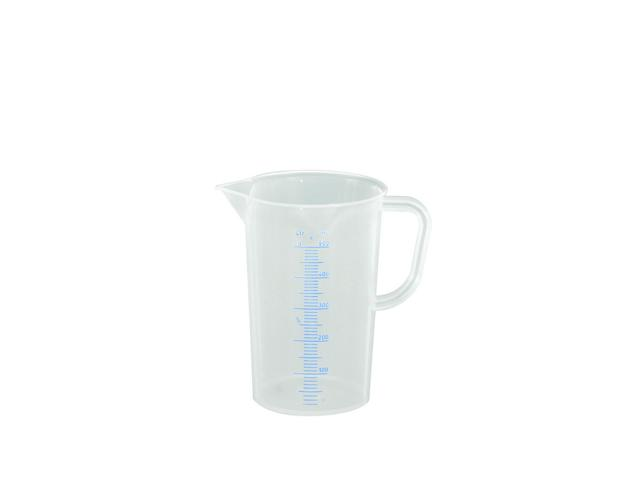 Messkanne 500 ml, opak transparent