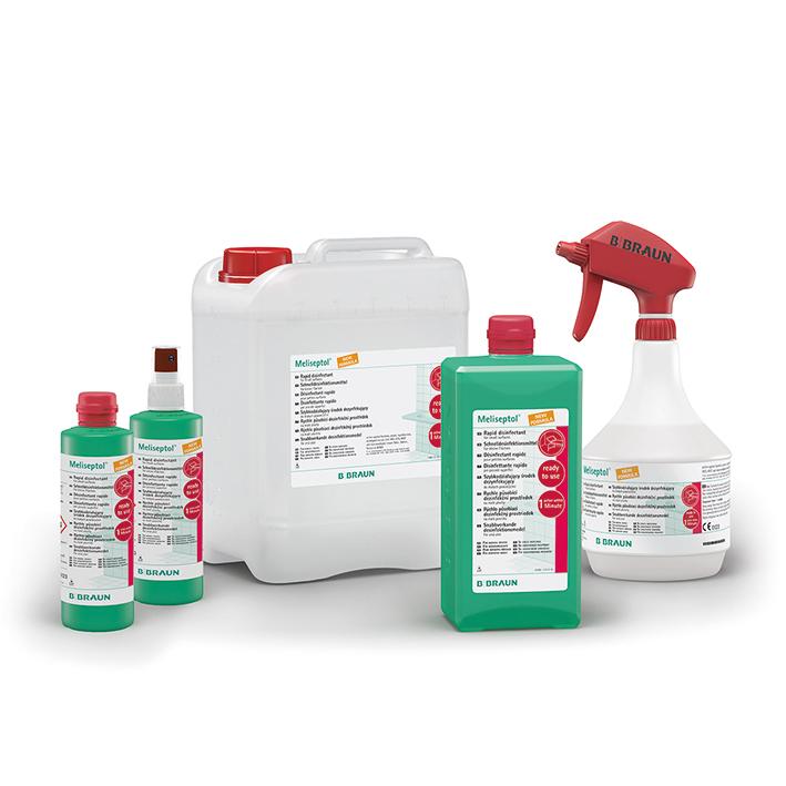 Meliseptol New Formula 1000 ml, Dosierflasche Flächenschnelldesinfektion