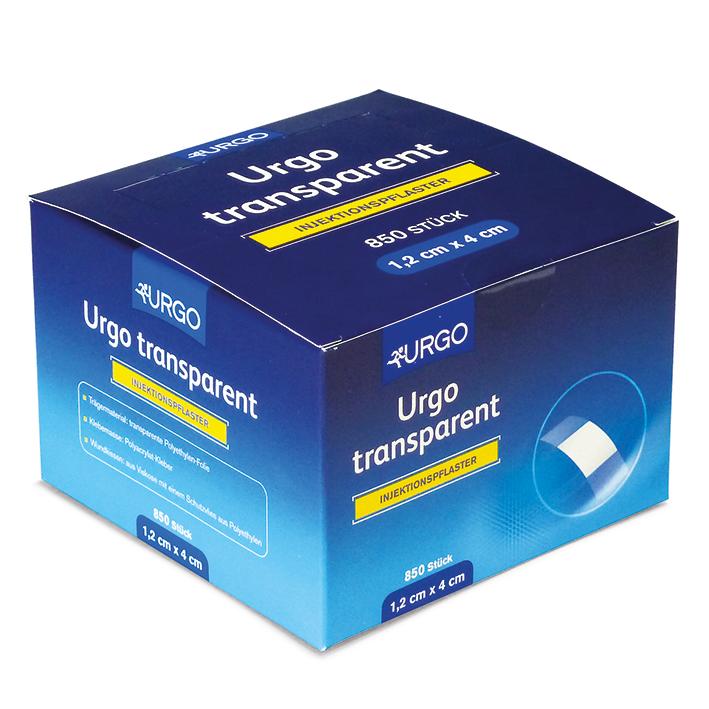 Urgo transparent Injektionspflaster, 1,2 x 4 cm (850 Stck.)