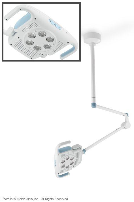 GS 900 große LED-Behandlungsleuchte, zur Deckenmontage