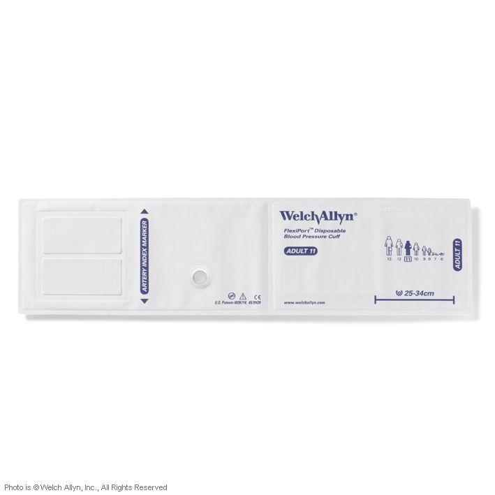 FlexiPort Einmal-Manschetten (20 Stck.), ohne Schlauch, für Erwachsene, ohne Geräteanschluss