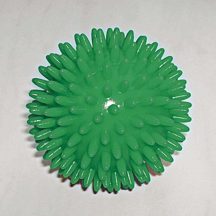 Igel-Massage-Handball grün Ø 7 cm