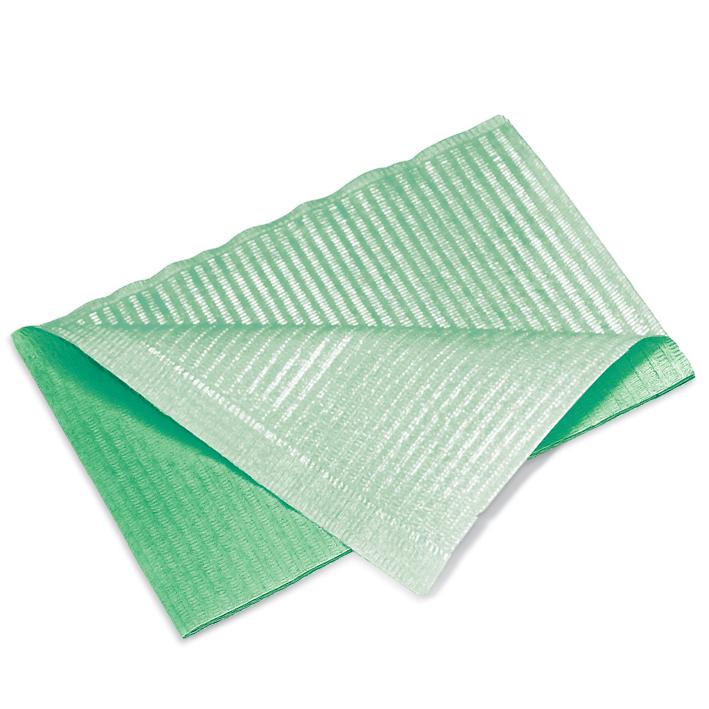 Patientenservietten, mint grün, 33 x 45 cm, 2-lagig (500 Stck.)