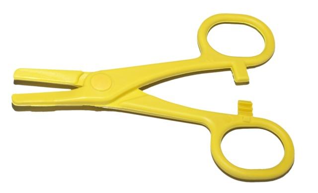 Schlauchklemme, Gelb, 120mm