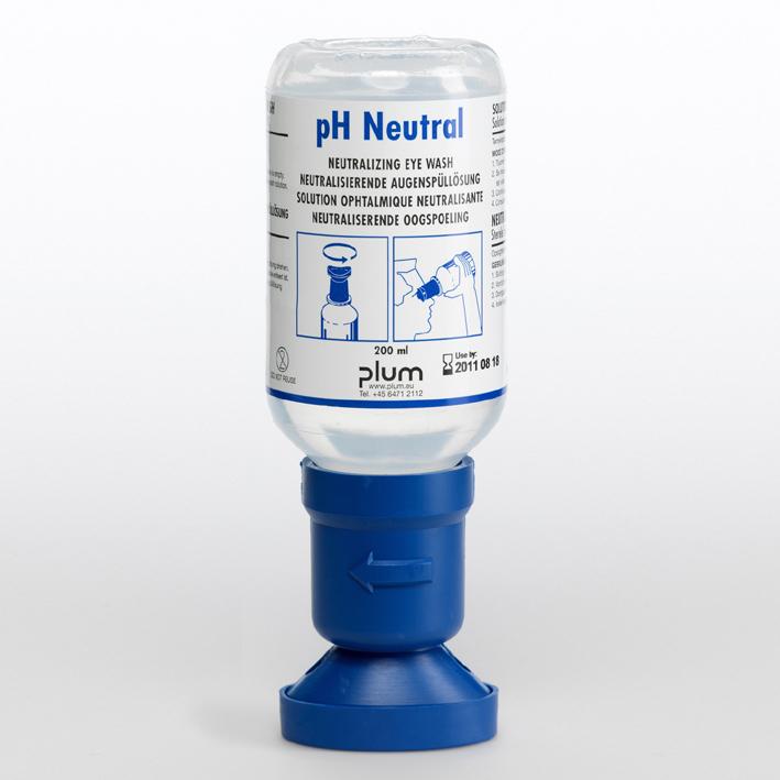 Plum Augenspülflasche 200 ml pH Neutral, (4,9 % Phosphatlösung)
