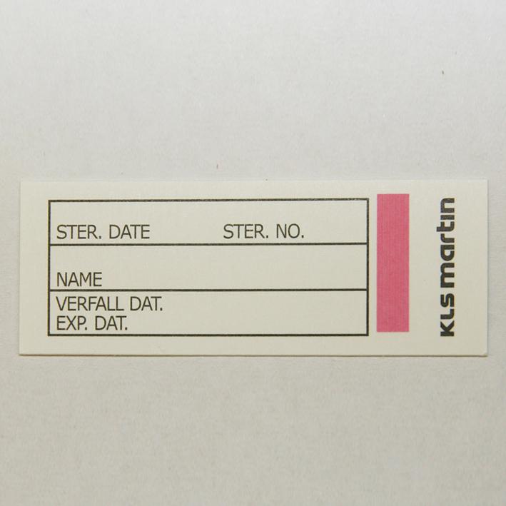 Protokollkärtchen mit Indikator, für ES-Container (320 Stck.)