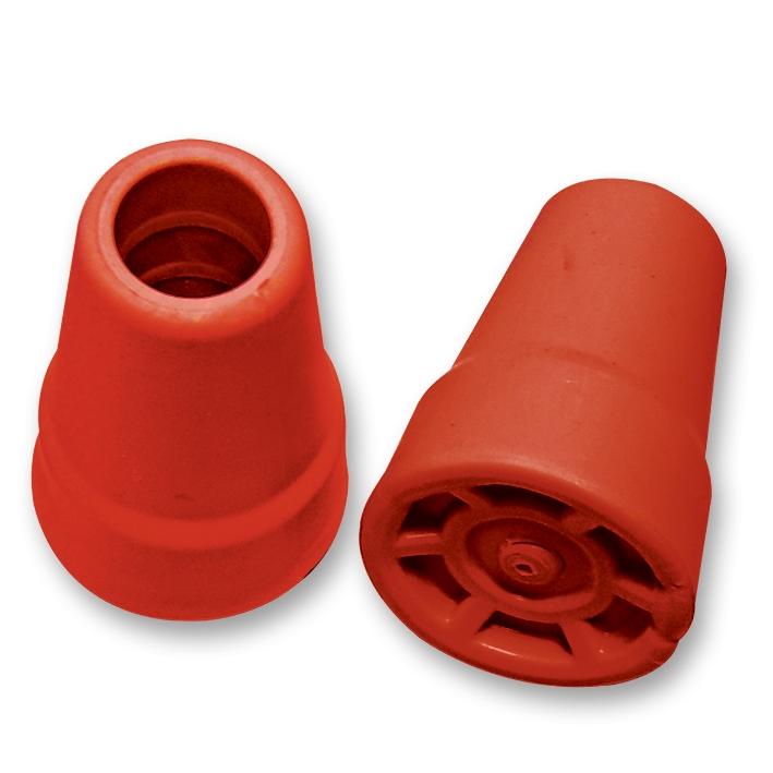Gehhilfe-Kappe feuerrot 19 mm