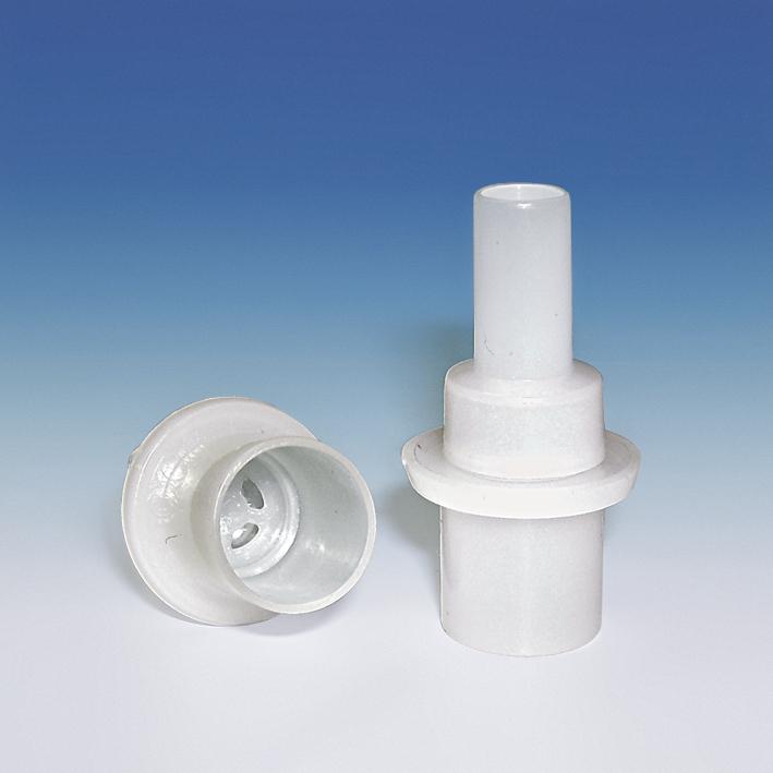 Einmal-Mundstücke mit Rückatemsperre, für Alkoholtester 4‰5‰ (25 Stck.)