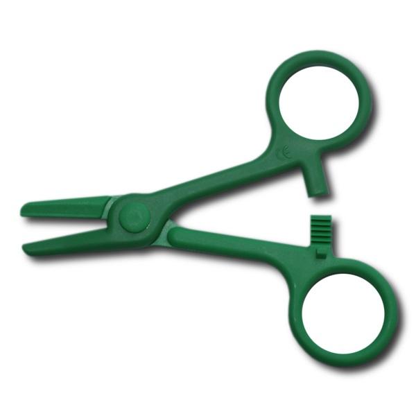 Schlauchklemme, Grün, 108mm
