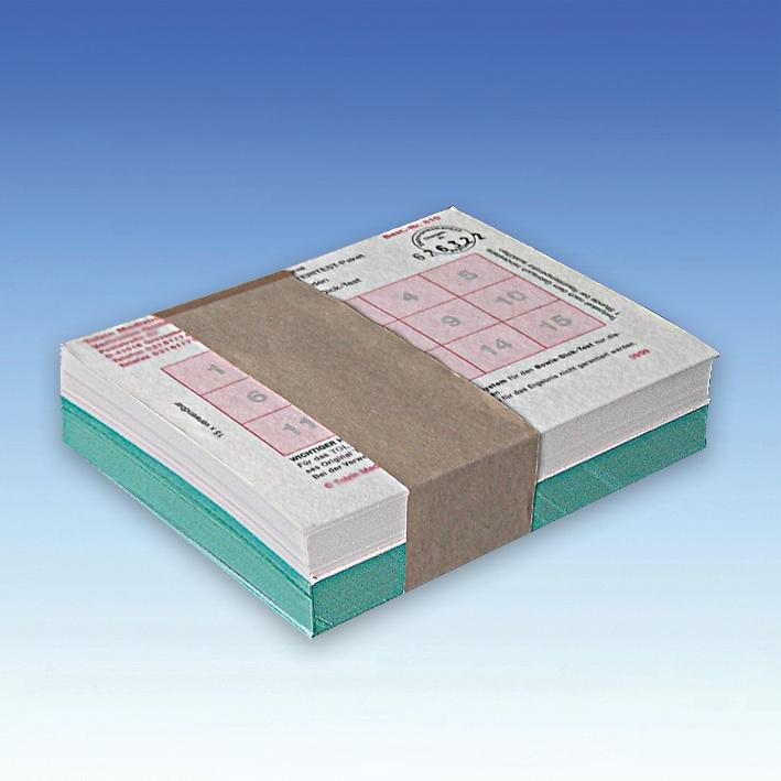 STERITEST-Paket ratiomed nach DIN 58946, für Bowie-Dick-Test, 115 x 150 x 30 mm
