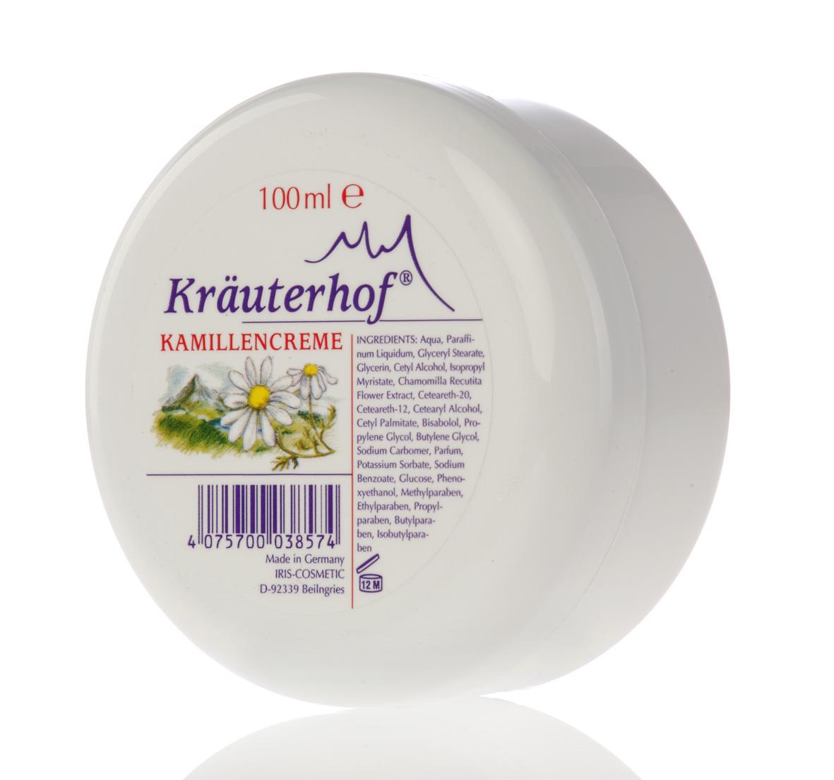 Kräuterhof Kamillencreme 100 ml