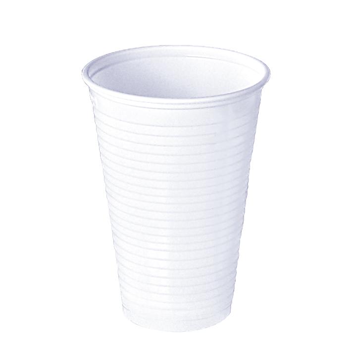 Universalbecher 200 ml, weiß, (100 Stck.)