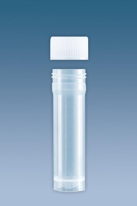 PP-Röhrchen 15 ml, 76 x 20 mm, beiliegendem Verschluss (500 Stck.)