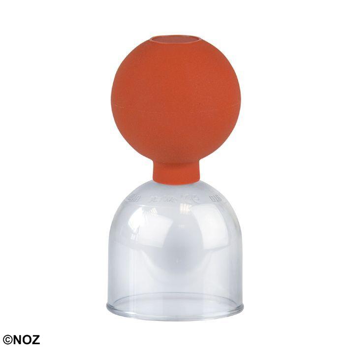 Schröpfglas aus Kunststoff, Gr. 4, ca. Ø 5,5 cm mit Ball