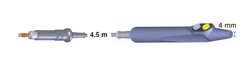 Handgriff Budget 103230, ERBE T-Modell, 4,5 mtr.