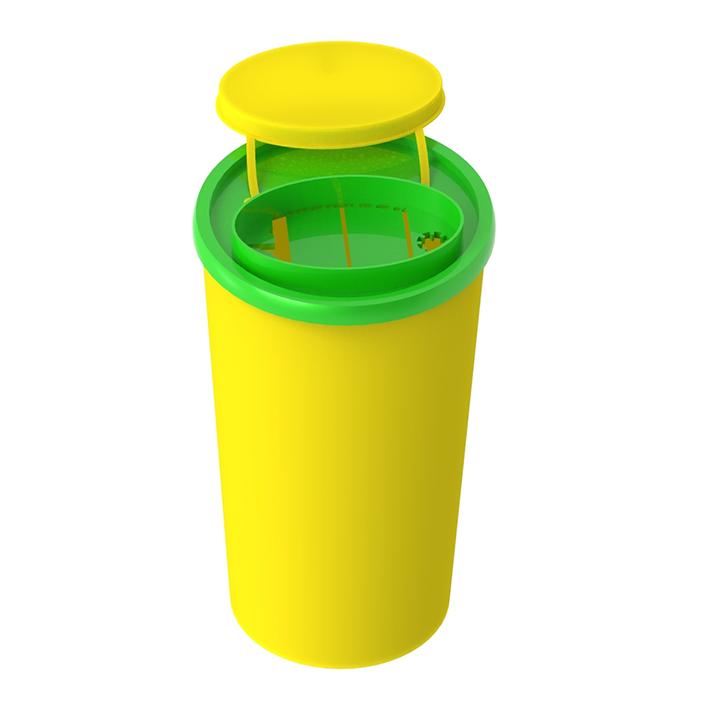 Entsorgungsboxen Medi-Müll 2,5 Ltr., ohne Halterung (45 Stck.)