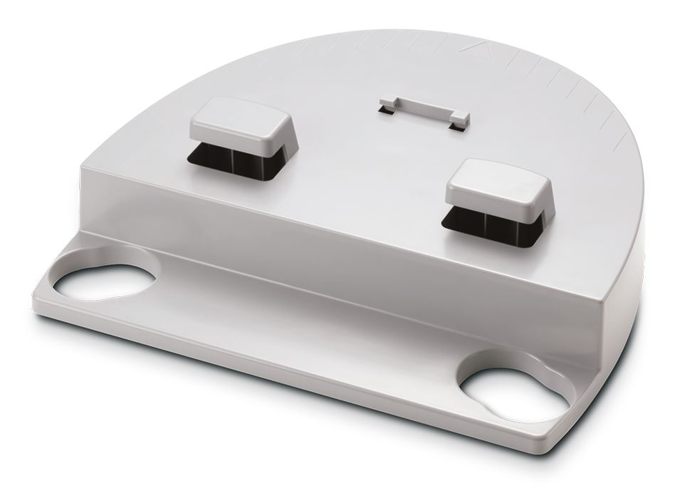 Adapterelement für mobiles Stadiometer, seca 217 zur Verbindung mit den Waagen