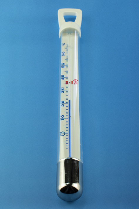 Badethermometer, zylindrisch ca. 26,5 cm
