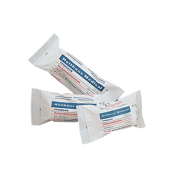 YPSISAVE Verbandpäckchen klein, steril 6 x 8 cm