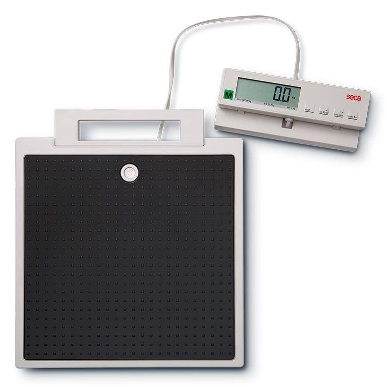 elektronische Flachwaage seca 899 mit Kabelfernanzeige inkl. Eichkosten ? 51,-