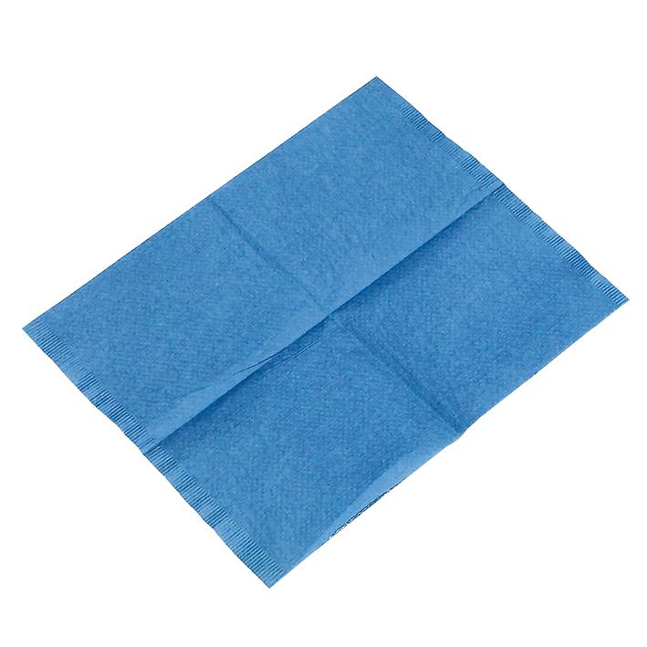 Kopfstützenschoner Tissue/PE, 25 x 33 cm, dunkelblau (500 Stck.)