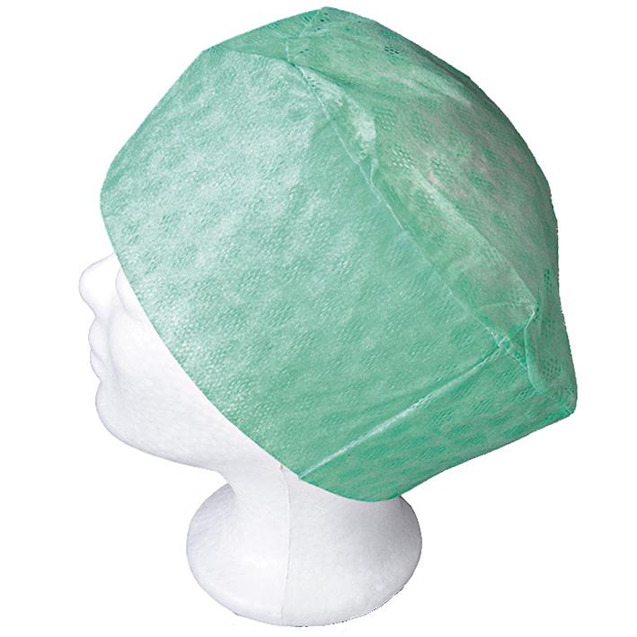 Barrier OP-Hauben Elast, grün (150 Stck.)
