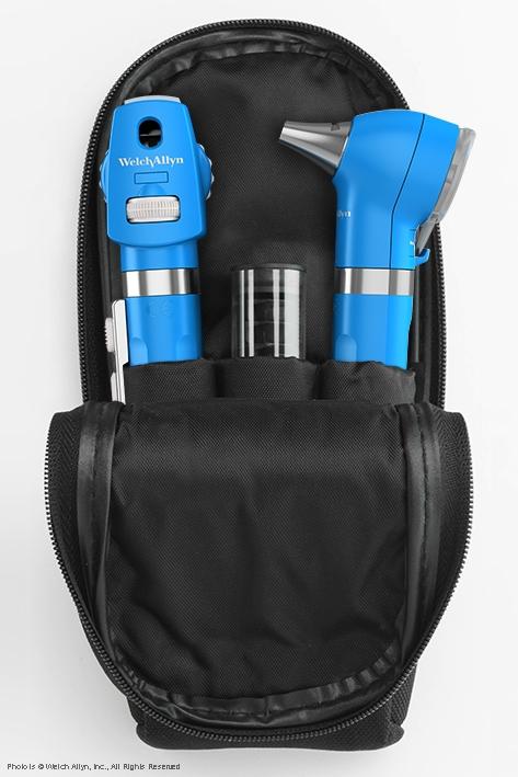 Pocket LED Set royalblau, mit Softtasche