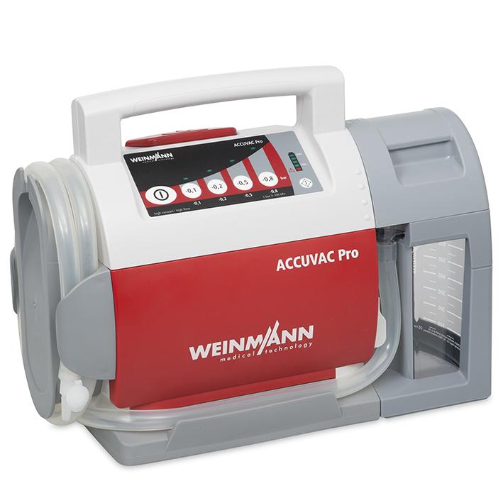 ACCUVAC Pro Absaugpumpe mit Mehrwegbehältersystem