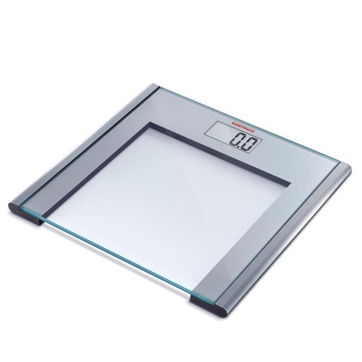 Personenwaage SilverSense aluminium/glas, silber