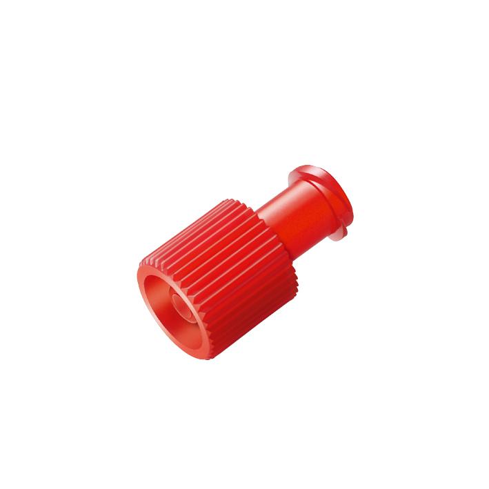 Verschlusskonen Combi rot, Lock-innen/außen (100 Stck.)