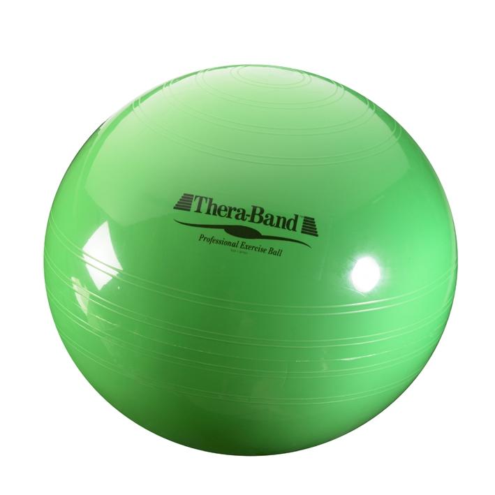 Thera-Band Gymnastik-Ball Ø 65 cm, grün, bis Körpergröße 180 cm