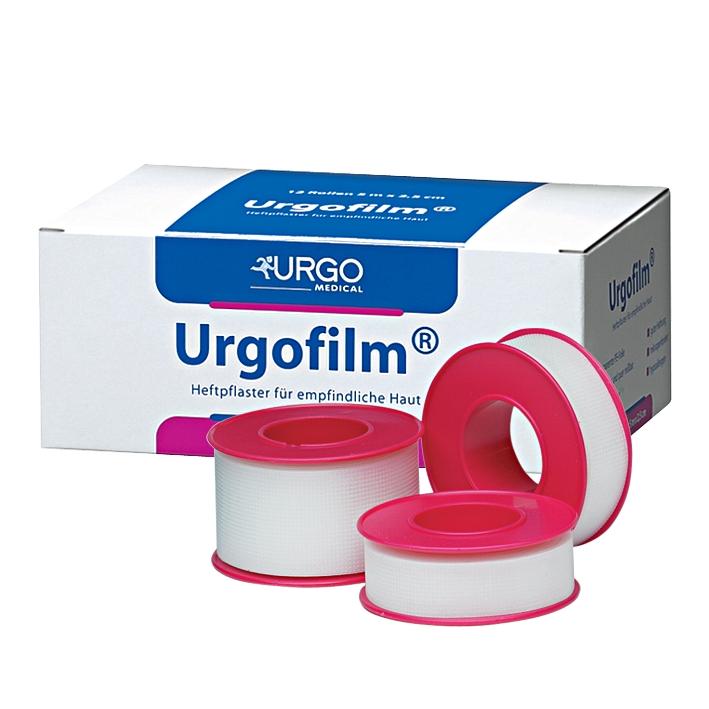 Urgofilm Rollenpflaster, transparent, 9 m x 2,5 cm, ohne Schutzring (12 Stck)