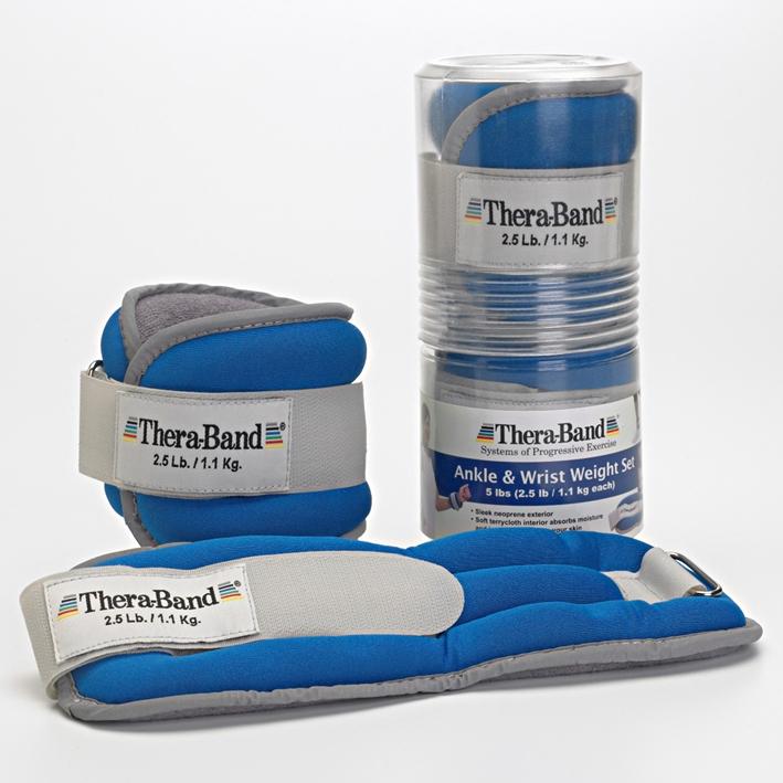 Thera-Band Gewichtsmanschetten, 2 x 1130 g, blau
