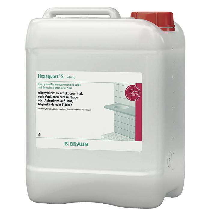 Hexaquart S 5 Ltr. Flächendesinfektion, Fichtennadelduft