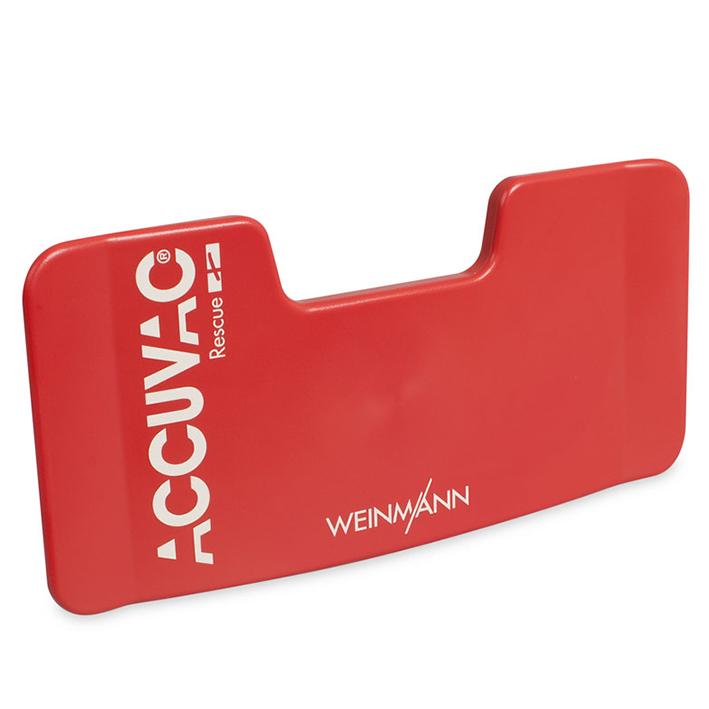Schlauchhalterplatte, rot für, ACCUVAC Rescue
