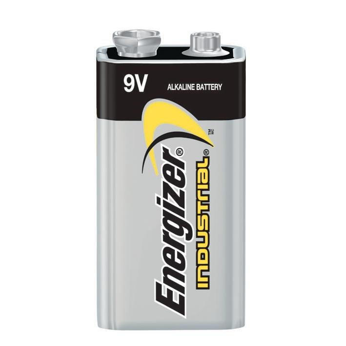 Energizer Industrial Batterien Block, 6LR61 9 V 625 mAh (12-er Pack),