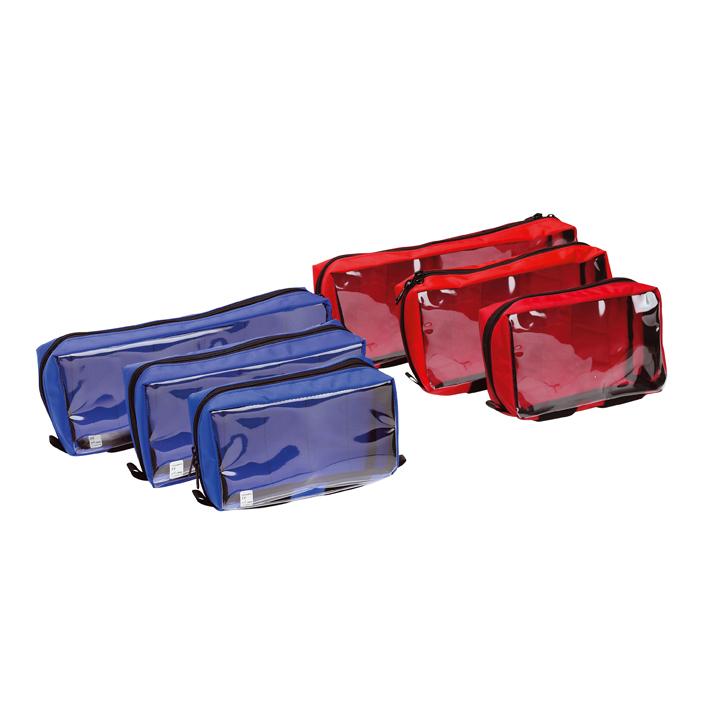 Zubehörtasche für RESCUE-PACK/, RESCUE-BOX, Größe S, rot 200 x 120 x 70 mm