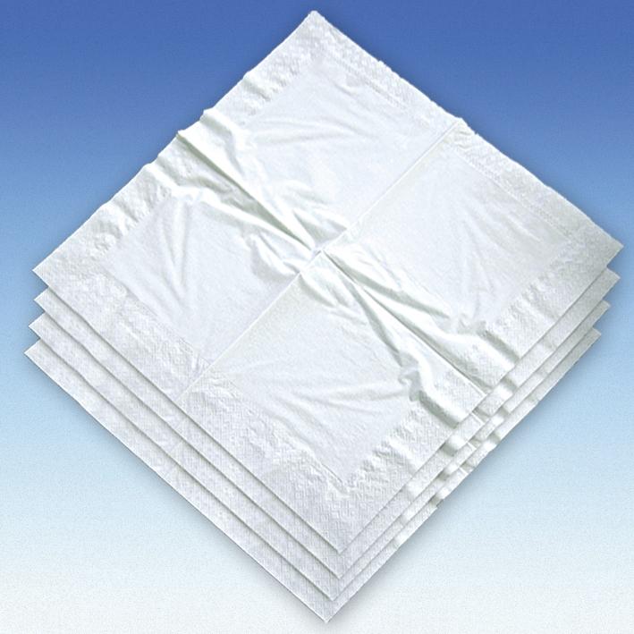 Servietten Typ Dental, weiß, 40 x 40 cm, 2-lagig (250 Stck.)