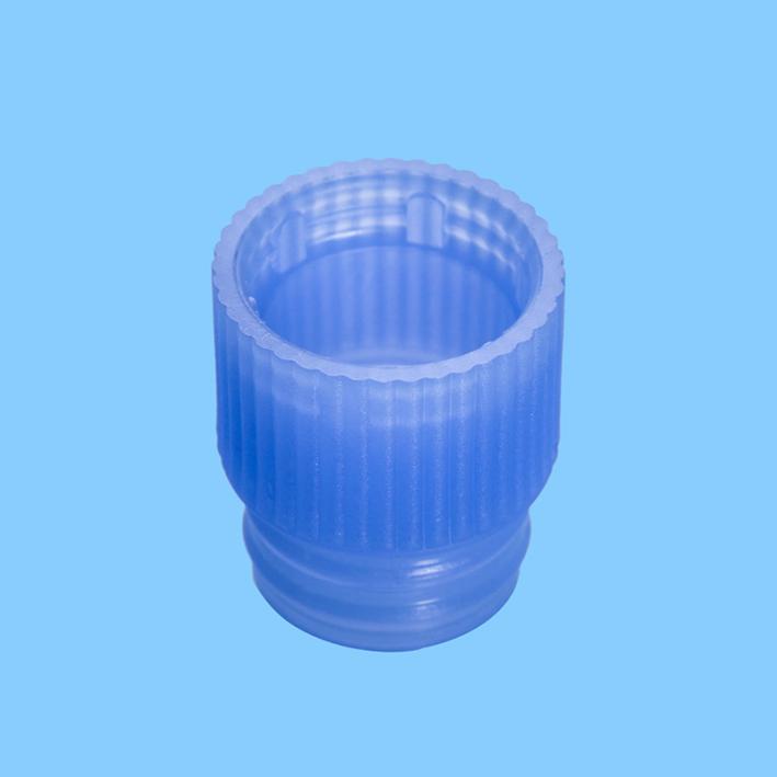 Eindrückstopfen blau, für Röhrchen Ø 13 mm (1000 Stck.)
