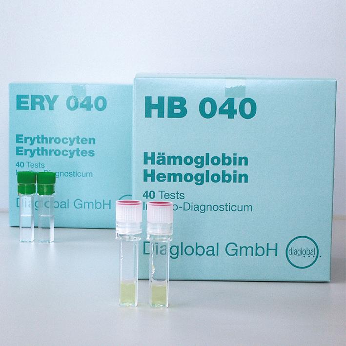 Hämoglobin-Miniküvetten, für BAYER-Minilab (40 T.)
