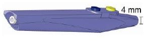 Handgriff Standard 102240, AES-BER-MAR