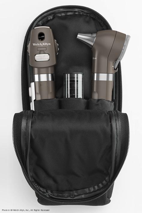Pocket LED Set onyxschwarz, mit Softtasche