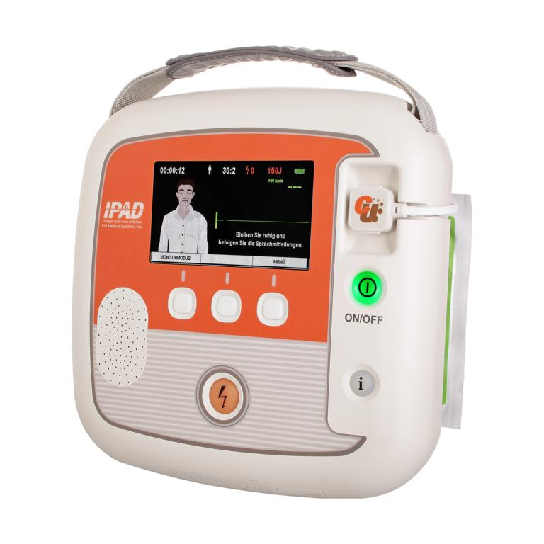 iPAD CU-SP2-MO Defibrillator -Meister- Manual