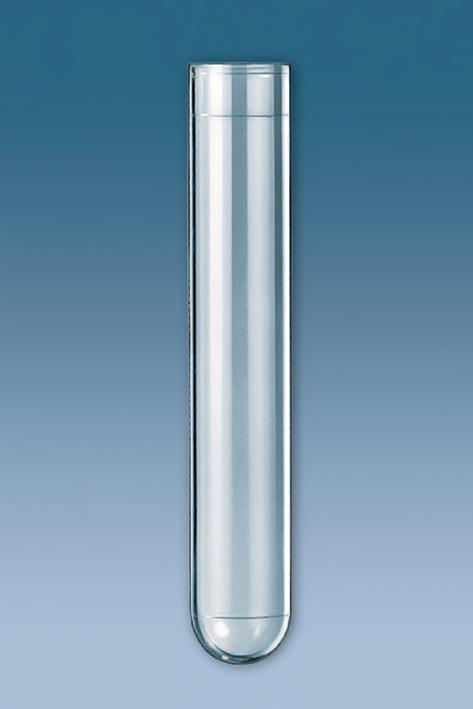 PS-Röhrchen 13 ml, 95 x 16,8 mm, (Stapelpackung) (250 Stck.)