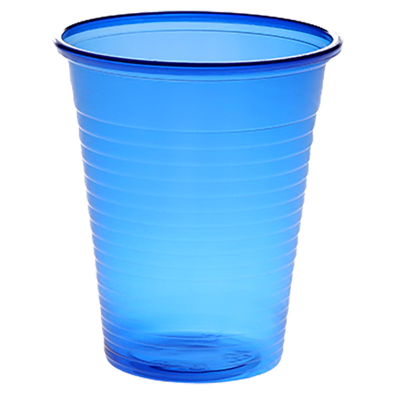 Universalbecher 180 ml, blau, (100 Stk.)