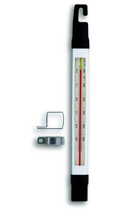Tiefkühlthermometer, amtlich geeicht, Halter, -35?C bis +25?C