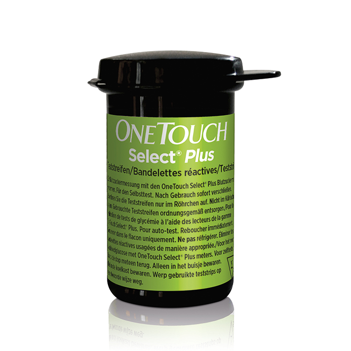 OneTouch Select Plus, Blutzuckerteststreifen (50 T.)