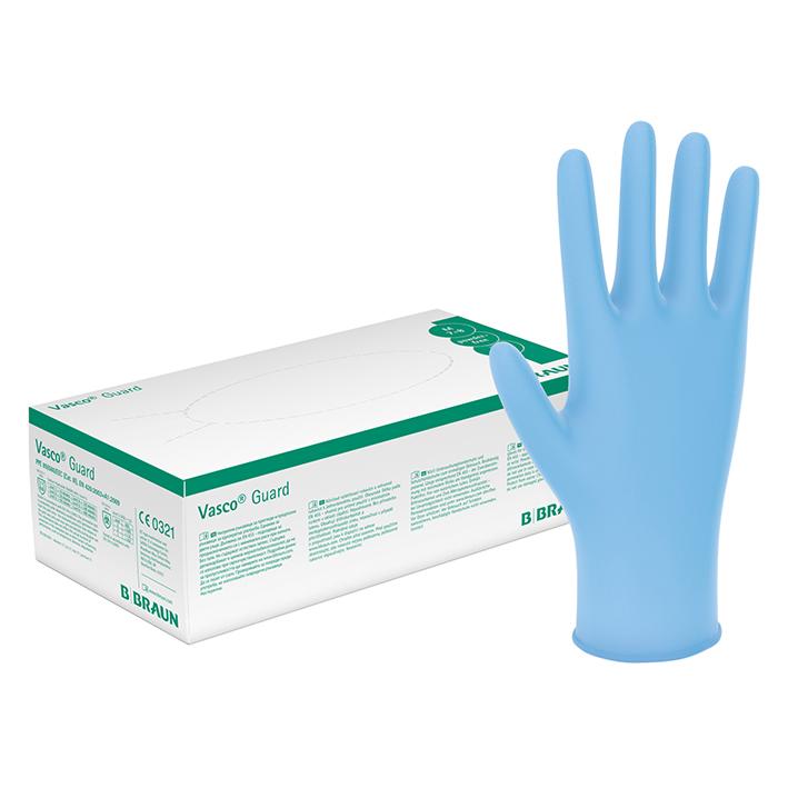 Vasco Guard Nitril U.-Handschuhe, Gr. XL, 9-10 (90 Stck.)