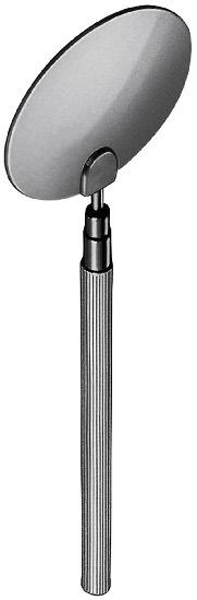 Abdeckscheibe Ø 55 mm mit Griff, und Clip (Cover-Test)